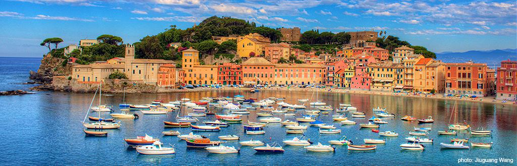 Sestri Levante (photo: Jiuguang Wang)