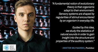 Wiktor Młynarski: Statistics of Natural Sounds