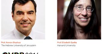Photos of Prof.  Liz Spelke and Prof. Amnon Shashua