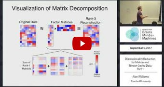 Embedded thumbnail for Dimensionality Reduction for Matrix- and Tensor-Coded Data [Part 1]