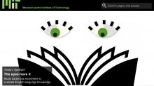 Screenshot from MIT News