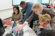 A week at MIT; Workshop on quantitative methods in biology draws diverse undergrads from across the country.
