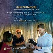 Photo of Prof. Josh McDermott doing field research.