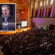 Prof. Tomaso Poggio speaking in Prague