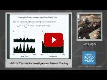 Embedded thumbnail for Jed Singer: Neural Coding