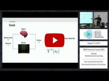 Embedded thumbnail for Tutorial: Reinforcement Learning  (1:07:33)