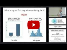 Embedded thumbnail for Tutorial: Statistics and Data Analysis (1:05:30)