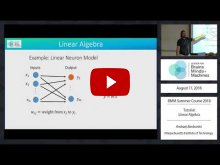 Embedded thumbnail for Tutorial: Linear Algebra (48:39)