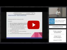 Embedded thumbnail for Cluster computing and OpenMind [part 2]
