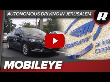 Embedded thumbnail for Intel and Mobileye take us on an autonomous lap of Jerusalem