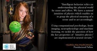 Karolina Marciniak: Intuitive Physics