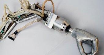 old robotic arm