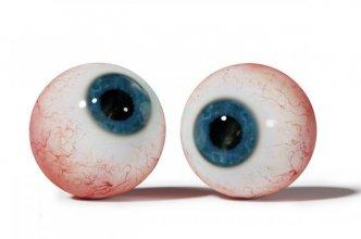 a pair of eye balls