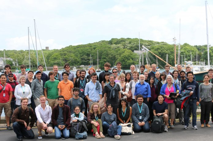 Group photo of the 2014 summer course attendees