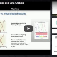 Psychophysics and data analysis