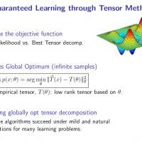 Tensor Methods