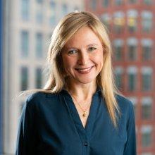Photo of Prof. Aude Oliva (MIT CSAIL)
