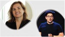 Photo of Prof. Daniela Rus and Dr. Ramin Hasani, MIT CSAIL