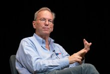 Ex-Google CEO Eric Schmidt. Photo: Kris Brewer