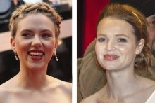 Perception of a familiar face, such as Scarlett Johansson, is more robust than for unfamiliar faces, such as German celebrity Karoline Herferth.  Photos: Wikimedia Commons