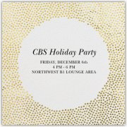 CBS Holiday Party