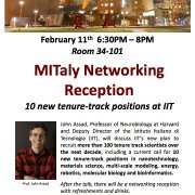 MITaly Networking Reception