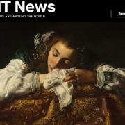Screenshot of MIT News article.