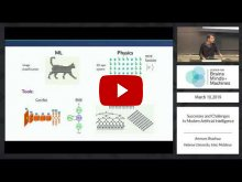 Embedded thumbnail for Successes and challenges in modern artificial intelligence
