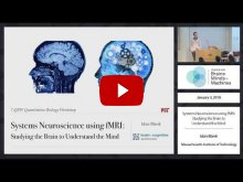 Embedded thumbnail for Systems Neuroscience Using fMRI: Studying the Brain to Understand the Mind