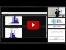 Embedded thumbnail for Neural Data Analysis Tutorial - Part 2