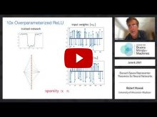 Embedded thumbnail for Banach Space Representer Theorems for Neural Networks
