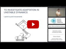 Embedded thumbnail for Interaction Control: In Humans, For Robots