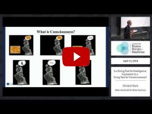 Embedded thumbnail for Is a Turing test for intelligence equivalent to a Turing test for consciousness?