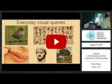 Embedded thumbnail for VIsipedia: Combining data, machines and experts to distill knowledge