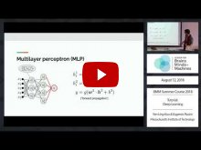 Embedded thumbnail for Tutorial: Deep Learning