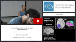 Embedded thumbnail for Functional Specificity in the Human Brain: A Very Brief History