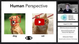 Embedded thumbnail for Adversarial Examples and Human-ML Alignment