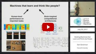 Embedded thumbnail for Building Machines that Learn and Think Like People