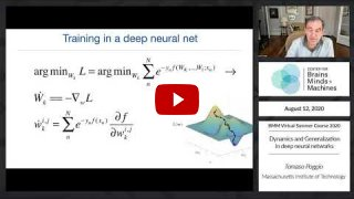 Embedded thumbnail for Dynamics and Generalization in deep neural networks